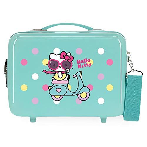 Hello Kitty Girl Gang Beauty case adattabile, 29 x 21 x 15 cm