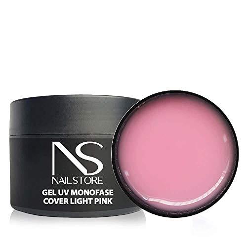 Gel UV Led Costruttore Monofasico Cover Light Pink - media densità - autolivellante (50g)