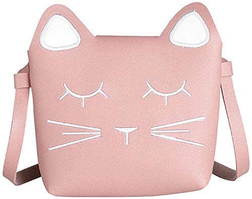 YUIP mini borsa principessa, borsa a tracolla per bambini, rosa