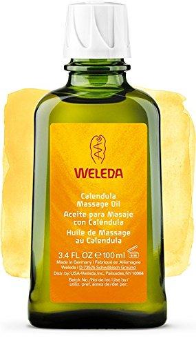 Olio alla Calendula per Massaggi, pelli sensibili - Weleda (100 ml) - Si invia con: un campione gratuito e una card super bella che puoi usare come segnalibro!