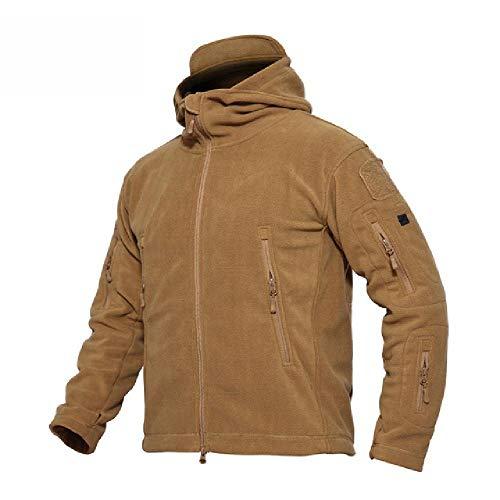 Giacca da uomo in pile per esterni in inverno Solid Soft Shell in poliestere Fango XL