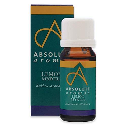 Absolute Aromas Olio Essenziale di Mirto Limone 10 ml - Puro, Naturale, Non Diluito, Cruelty-Free e Vegano - Per Aromaterapia e Diffusori