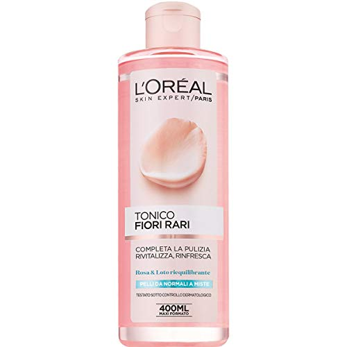 L'Oréal Paris Tonico Fiori Rari, Pelli Normali e Miste,