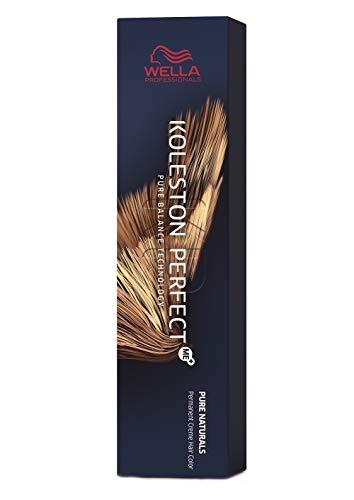 Wella Koleston Perfect Me + Pure Naturals - Colorazione permanente per capelli in crema, 5/00 Marrone chiaro naturale, 60 ml, 1 pezzo [etichetta in lingua italiana non garantita]