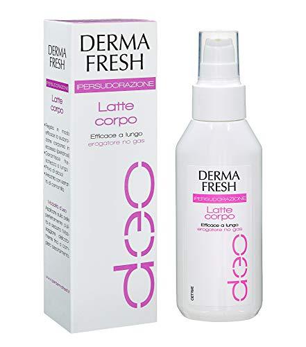 DERMAFRESH IPERSUDORAZIONE - Deodorante Latte Corpo da 100 ml - LUNGA DURATA