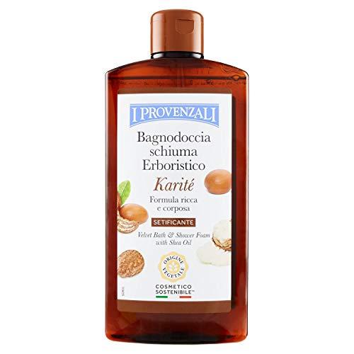 Bagno Schiuma Erboristico al Karité 400 ml Idratante e Nutriente