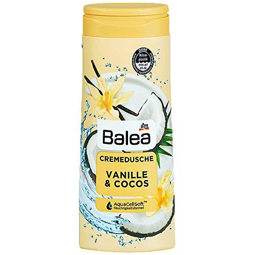 Balea - Crema doccia e crema alla vaniglia & Cocos Moiture Care, 300 ml