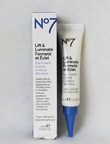 Boots No7 Lift and Luminate Eye Cream, 0.5 oz/15 ml by Boots