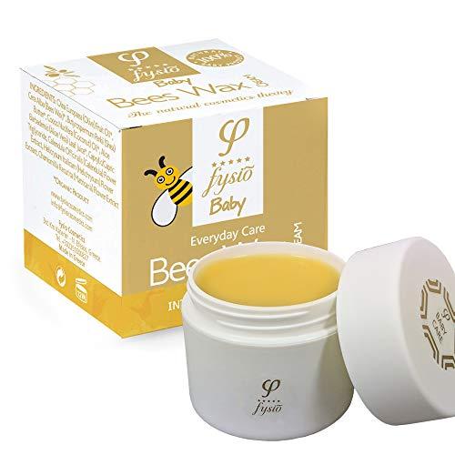 Crema per Pannolini Bio   Crema Protettiva Naturale per Bambini  Unguento per la Pelle Sensibile   Idratante con Cera d'Api, Calendula, Burro di Karitè e Olio d'Oliva   50ml