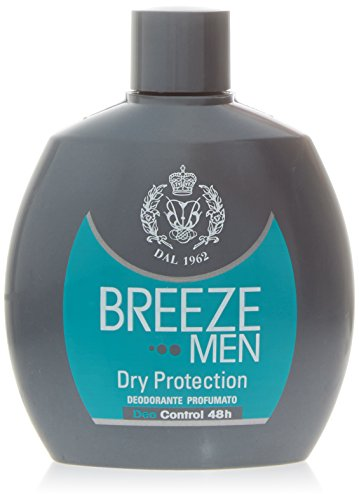 Breeze Deodorante Profumato Dry Protection per Uomo, 100ml