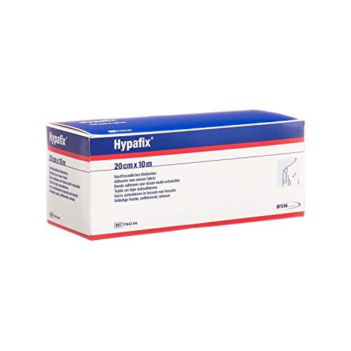 BSN - Hypafix, Benda Adesiva di Ritenzione per Medicazioni, in TNT Poroso e Conformabile, Ipoallergenico, Non Sterile ma Sterilizzabile, Misure 20 cm x 10 m, 1 unità