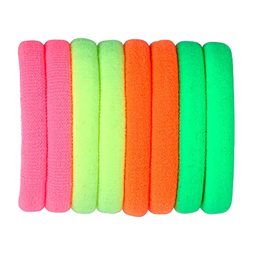 Widmann 01976 - Set di elastici per capelli, da donna, multicolore