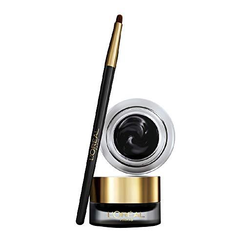 L'Oréal Paris MakeUp Eyeliner in Gel Superliner Gel Intenza, Texture in Gel e Tratto Spesso per un Risultato Ottimale, Nero, Confezione da 1
