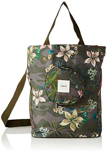 Desigual Woven Luggage, Donna, Verde, U