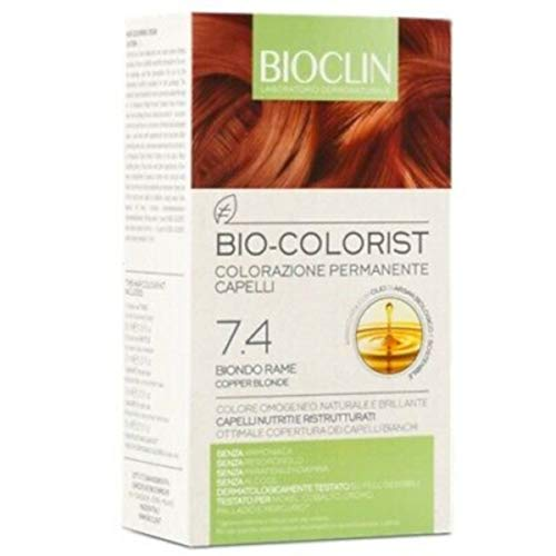 Bioclin Colorazione permanente 7.4 biondo rame