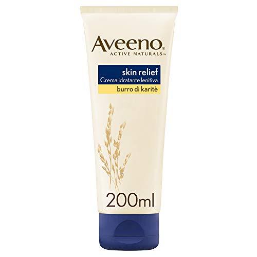 Aveeno Skin Relief Crema Corpo, per la pelle molto secca, 200 ml