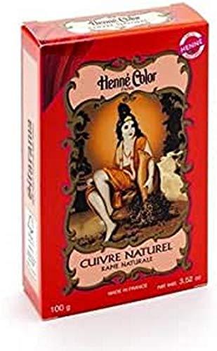 Sitarama Polvere Henne Color: Cuivre Rosso Rame Naturale - 100 gr