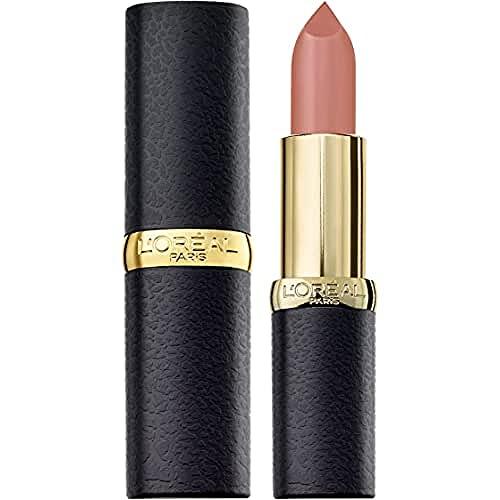 L'Oréal Paris Rossetto Matte Lunga Tenuta Color Riche Matte Addiction, 633 Moka Chic