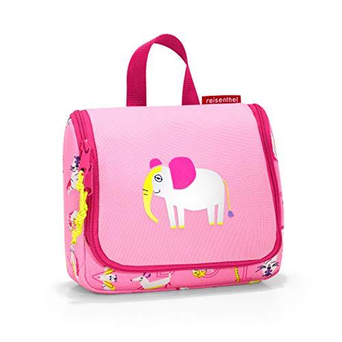 Reisenthel toiletbag S kids abc friends pink Beauty Case 19 centimeters 1.5 Rosa (Abc Friends Pink)