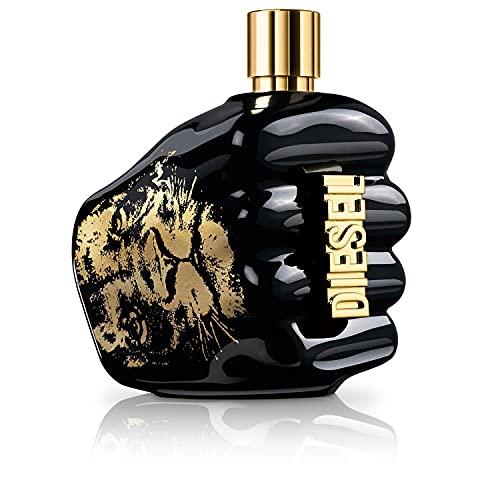 Diesel Diesel Spirit Of The Brave, Eau de Parfum Uomo, 200 ml, Profumo Neymar, Fougère Ambrato - 200 ml