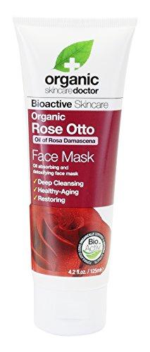 Dr. Organic Rose Otto Face Mask - Maschera Viso 125 ml