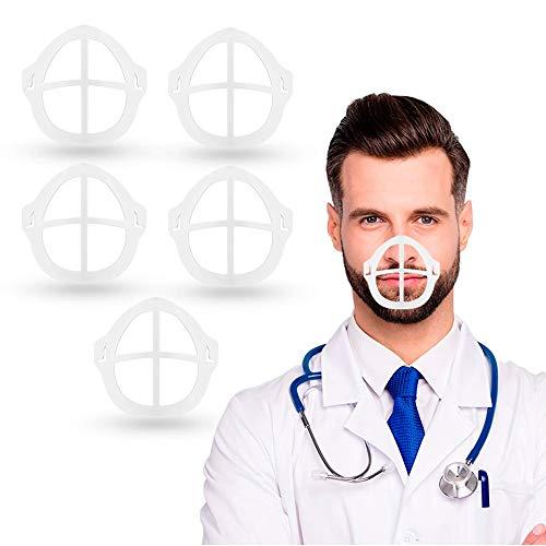 3D Maschera Staffa for Lipstick Proteggi da Homemade Titolare Maschera Kit con Face Covering Supporto Interno Cornice -Creare più Cool Breathing Space-Maschera di Protezione Accessori