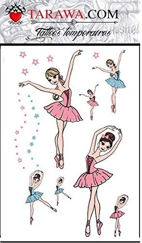 Tatuaggio ballerina per bambini – 6295