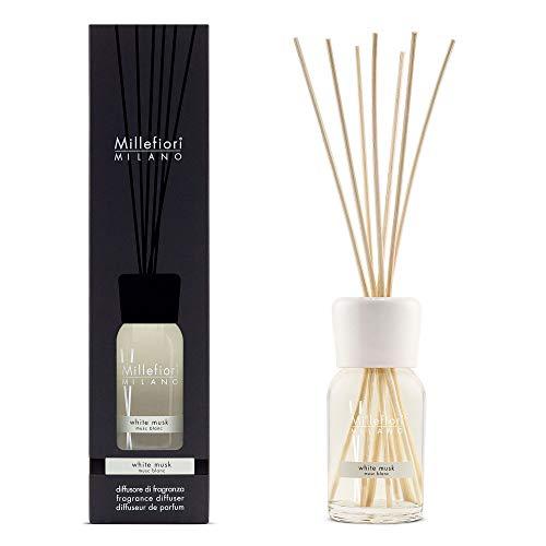 MILLEFIORI Diffusore di fragranza muschio bianco 100ml