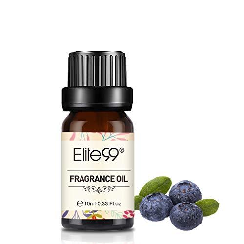 Elite99 Olio Fragranza di Mirtillo Olio di Profumo 100% Puro Naturale Aromaterapia 10Ml - Blueberry