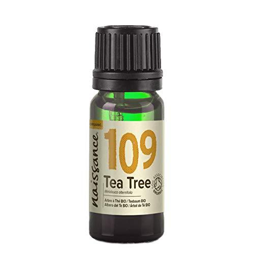Naissance, olio essenziale di tea tree biologico, puro al 100%, 10ml