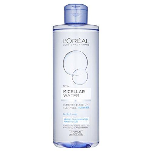 L'Oreal Paris, acqua micellare per pelli da normali a miste sensibili, 400ml (versione inglese)