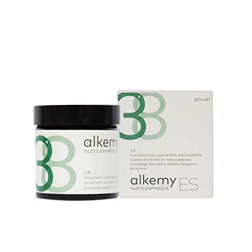 ES 3.8 - Maschera viso rigenerante e antiossidante a base di microalga klamath, mela e papaya