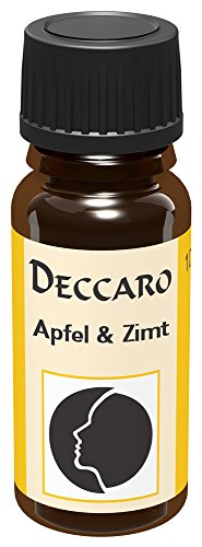 DECCARO Olio Aromaticol Mela e Cannella, 10 ml (Olio profumato)
