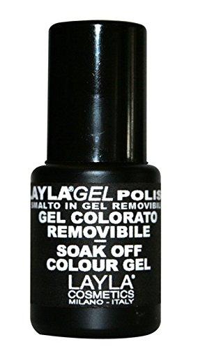 Layla Cosmetics - Smalto in gel per unghie One Step'Cake Pop', confezione da 1 (1x 5ml)