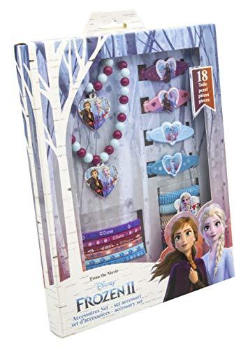 Joy Toy- Disney Frozen 2 Set Accessori 18 pz, Multicolore, 19389