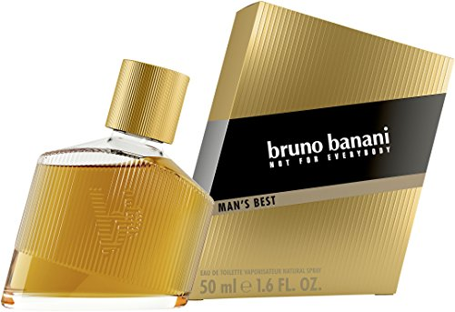 Bruno Banani Profumo Uomo Man's Best, Eau De Toilette Speziata e Legnosa, Formato 50 ml