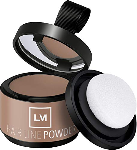 Leon Miguel HAIR LINE POWDER – Correttore/approccio Puder | per capelli e capelli su crescita attraverso Shadow Make Up | impermeabile (MEDIUM BLONDE)