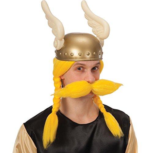 Carnival Toys 2315 - Parrucca Vikingo Gialla con Baffi