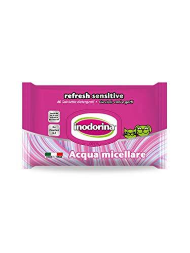 Inodorina Refresh Sensitive - Salviette detergenti all'Acqua Micellare