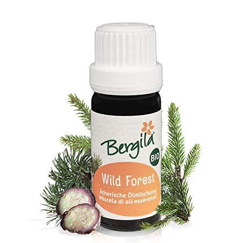 Bergila miscela oli essenziali WILD FOREST BIO, 30 ml - 100% naturale di materia prima biologica - qualità controllata e certificata