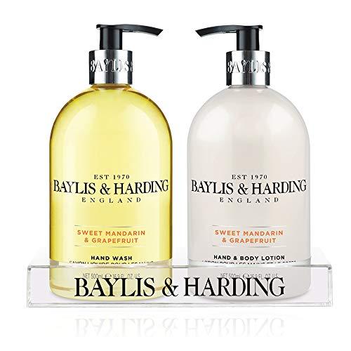 Baylis & Harding, Set con sapone liquido e crema idratante per mani e corpo, 2 x 500 ml