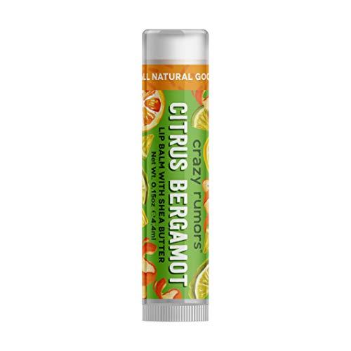Crazy Rumors Brew Lip Balm Tube 0.15 oz, Orange Bergamot by Crazy Rumors
