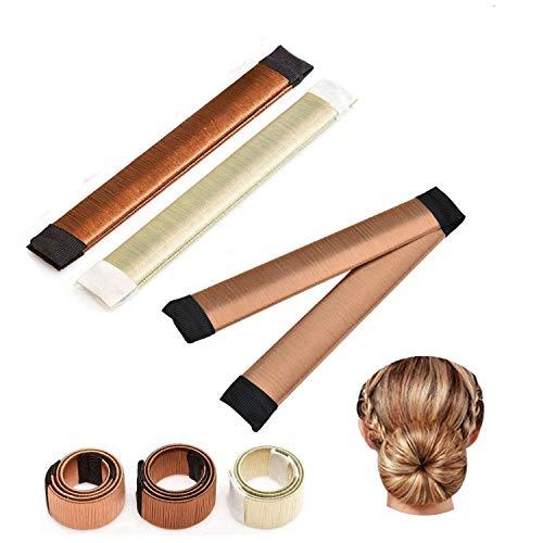 Accessori capelli Ciambelle per chignon Hair magic capelli 3 colori ragazza Clip Hairstyle