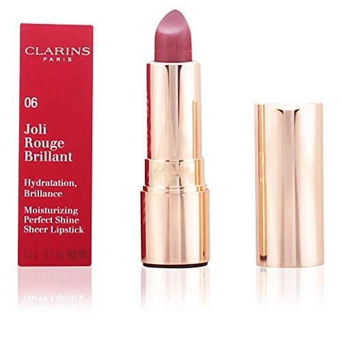 Clarins Joli Rouge Rossetto Brillante, 754 Deep Red, 3.5 g