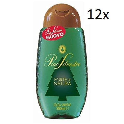 Pino Silvestre forte di natura Gel Doccia & Shampoo 250 ml Crema Doccia Shampoo