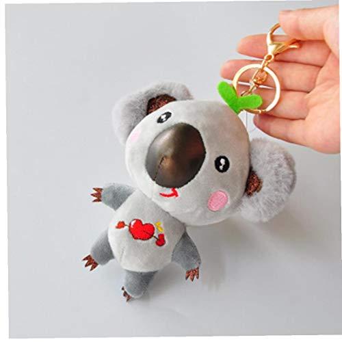 1pc Koala Portachiavi 12 Centimetri Chiave Cute Cartoon Ragazze del Regalo di Compleanno del Fumetto Koala Portachiavi Coppia Tatuaggi
