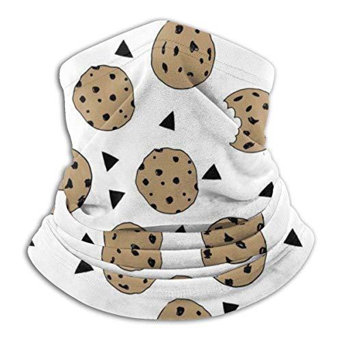 N/A Inverno Morbido Collo scaldacollo Multifunzionale Testa Sciarpa Maschera Viso, Biscotti, biscotti al cioccolato., taglia unica