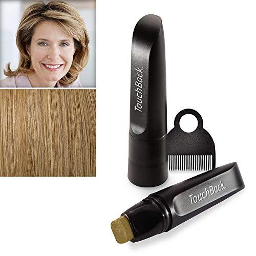 TouchBack biondo cenere colore per radici di capelli grigi, 1 x 8ml