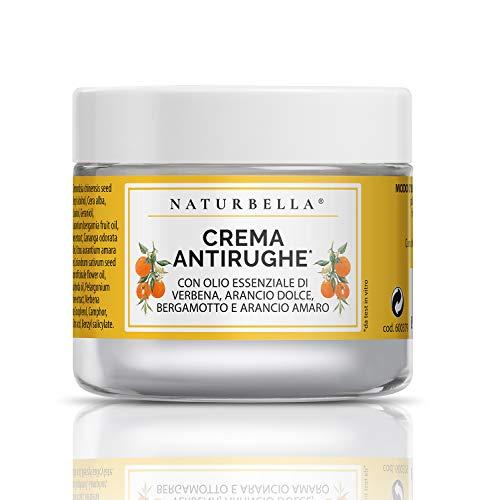 Crema Viso Antirughe [50ml], con Oli Essenziali di Verbena, Arancio Dolce, Bergamotto e Arancio Amaro, 100% Puri e Naturali