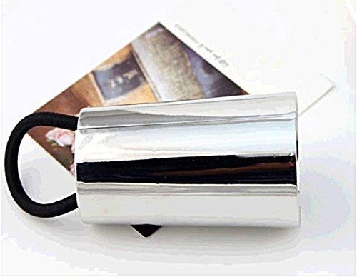 Butterme - Fascia elastica per capelli in metallo, con motivo a U, per decorazione